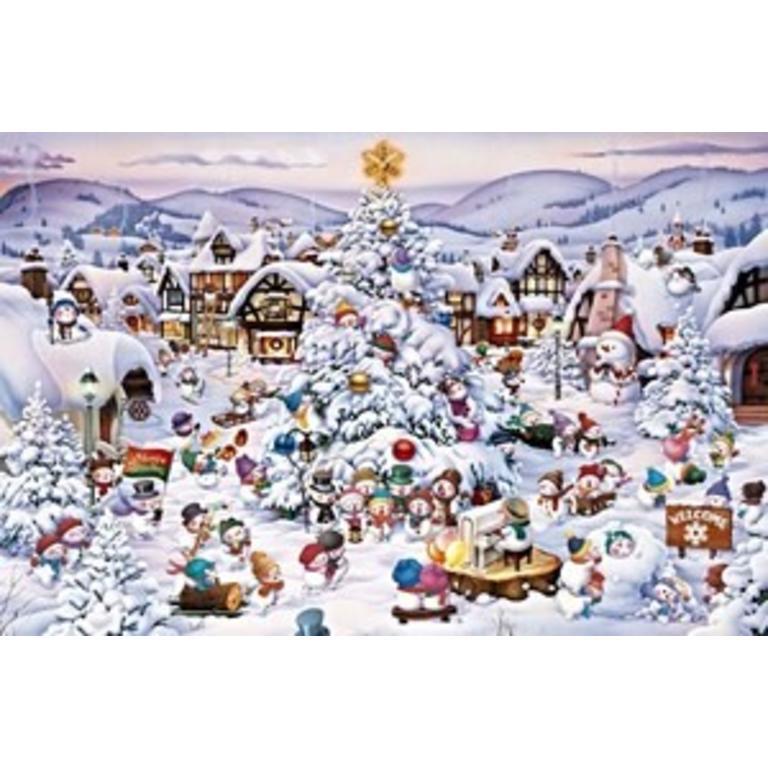 Christmas Choir.Piatnik 1000 Pcs Christmas Choir