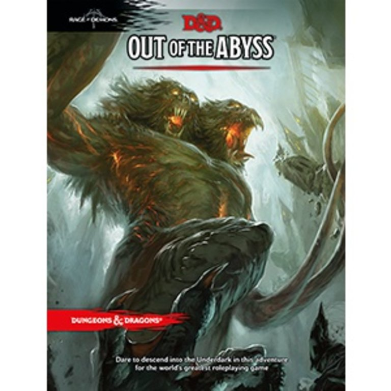 Dungeons & Dragons 5e Out of the Abyss - Boardgames ca