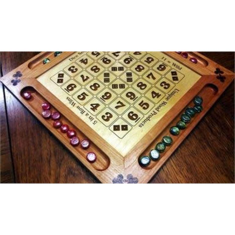 unique wood products wooden engraved dice sequence board boardgames ca