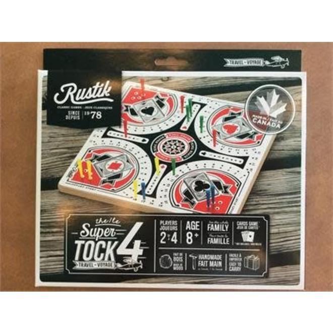 Rustik Super Tock Travel 4 Player (A K A  Super Tuck Game and Dashka)