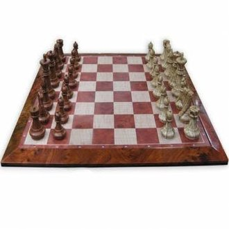 Wooden Checkers Pieces Stackable - Boardgames ca