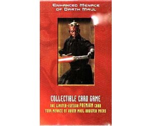 Star Wars Young Jedi Collectible Card Game Menace of Darth Maul Starter Deck