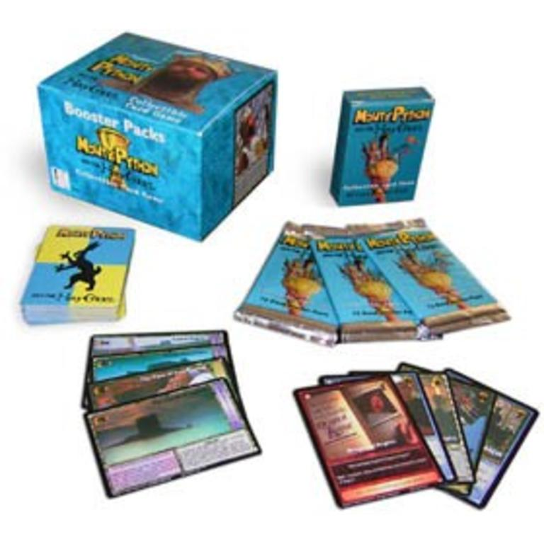 Misc CCGS Monty Python Holy Grail TCG Booster Pack