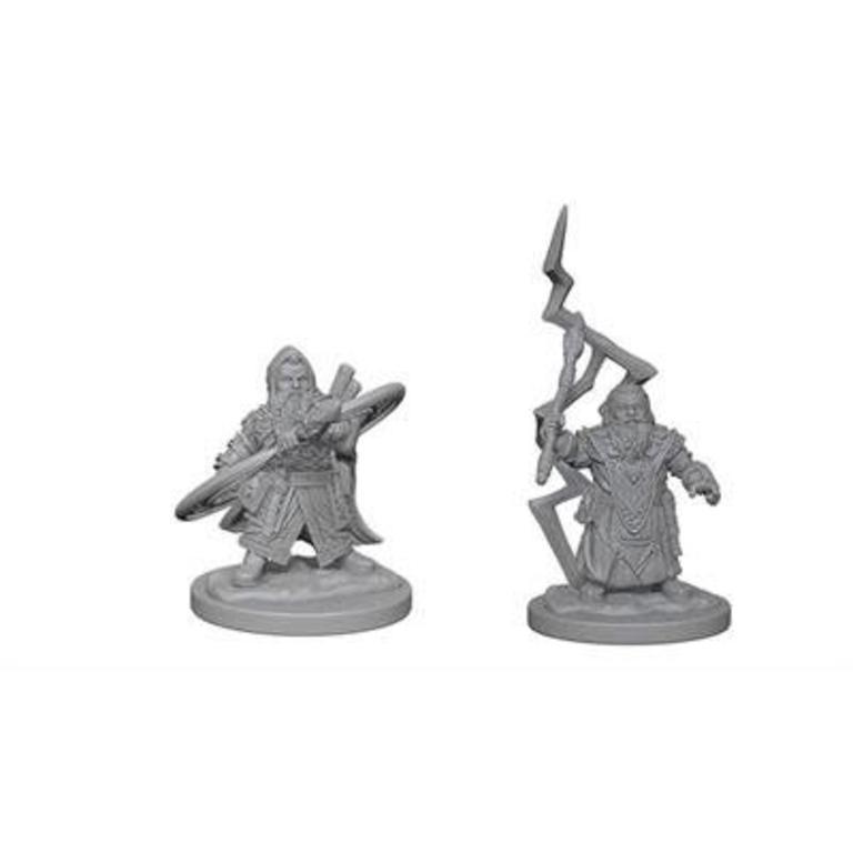 Wizkids/NECA LLC Pathfinder Deep Cuts Miniatures: Dwarf Male Sorcerer