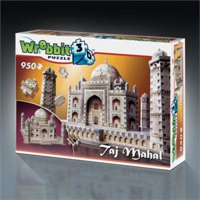 Taj Mahal 3d Puzzle