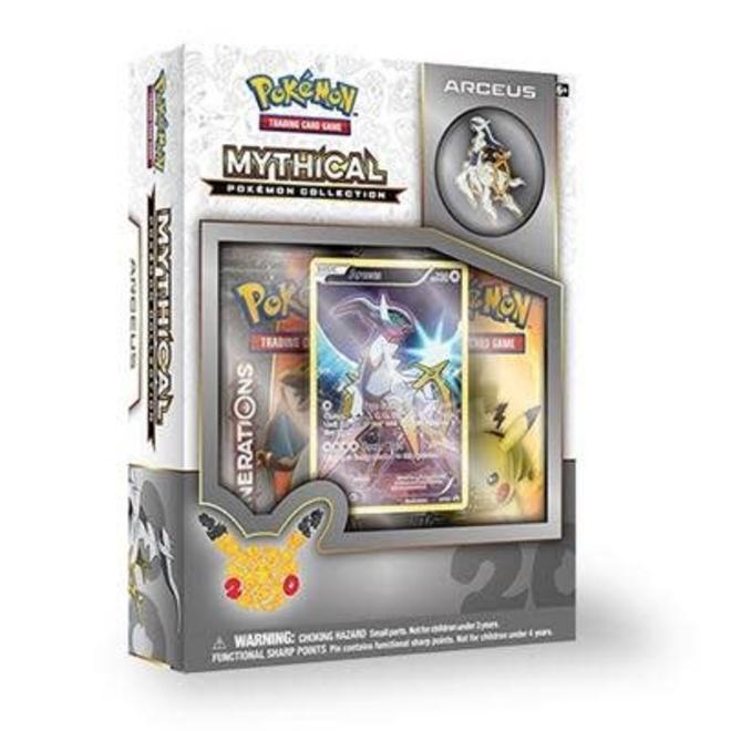 The Pokemon Company International Pokemon TCG Generations Mythical  Collection Arceus