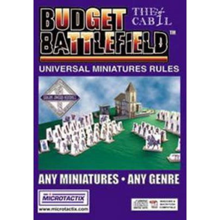 Microtactix Budget Battlefield Game Universal Miniatures Rules on CD