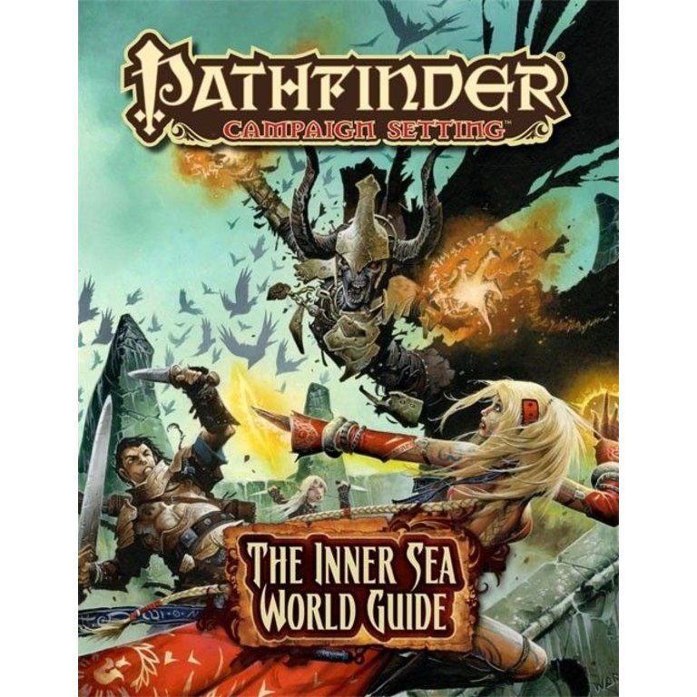 Paizo Publishing Pathfinder RPG Campaign Setting The Inner Sea World Guide