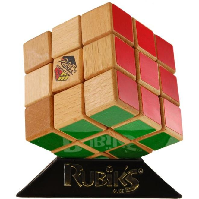 Kroeger Import Games Rubiks Cube 40th Anniversary Wood Edition