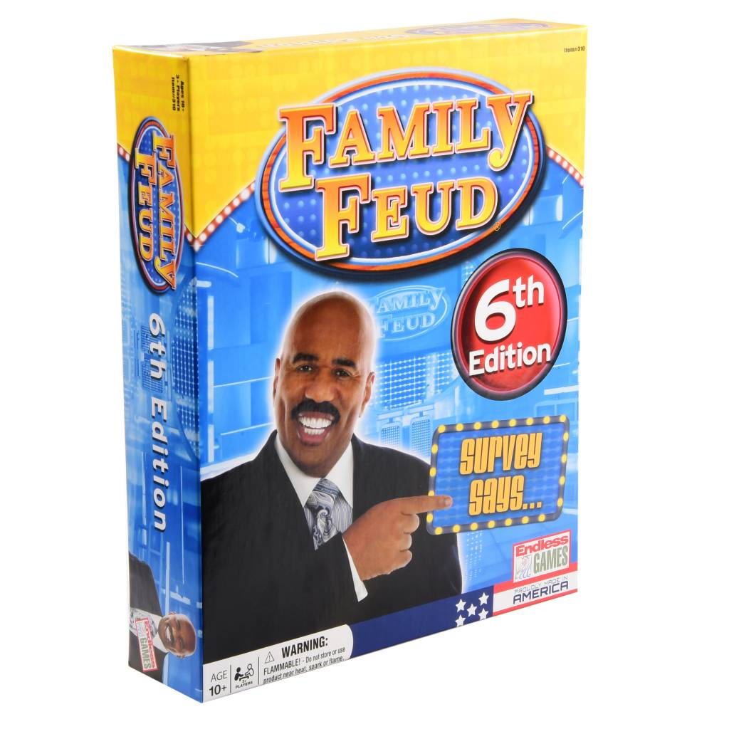 Family Feud 6th Edition (2016) Board Game