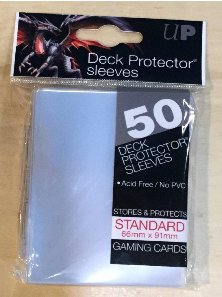 Ultra Pro Card Sleeves Standard Clear (50 @ 66x91mm)