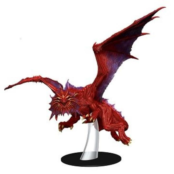 Icons of the Realms WizKids Dungeons and Dragons White Dracolich Premium Figure WIZKIDS//NECA Rage of Demons