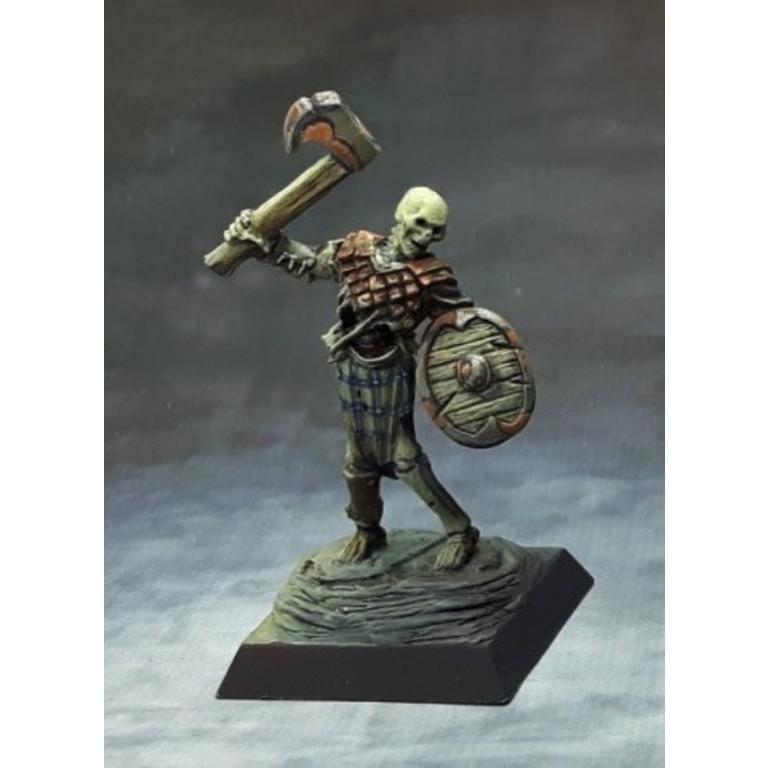 Reaper Dark Heaven Legends Miniatures Bog Skeleton w/ Axe