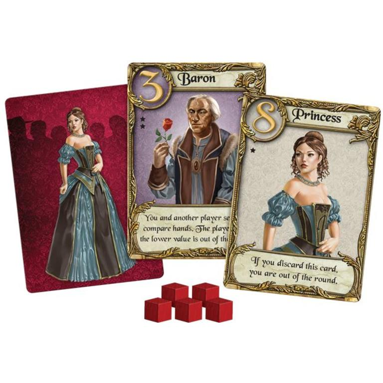 Love Letter Boxed Card Game by AEG