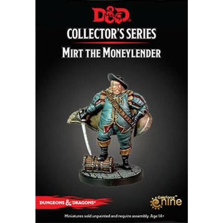 Gale Force Nine D&D Collector's Series: Waterdeep Dragon Heist - Mirt the  Moneylender