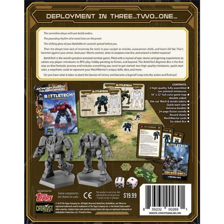 Battletech Beginner Box (RPG and Miniatures Game) - Boardgames ca