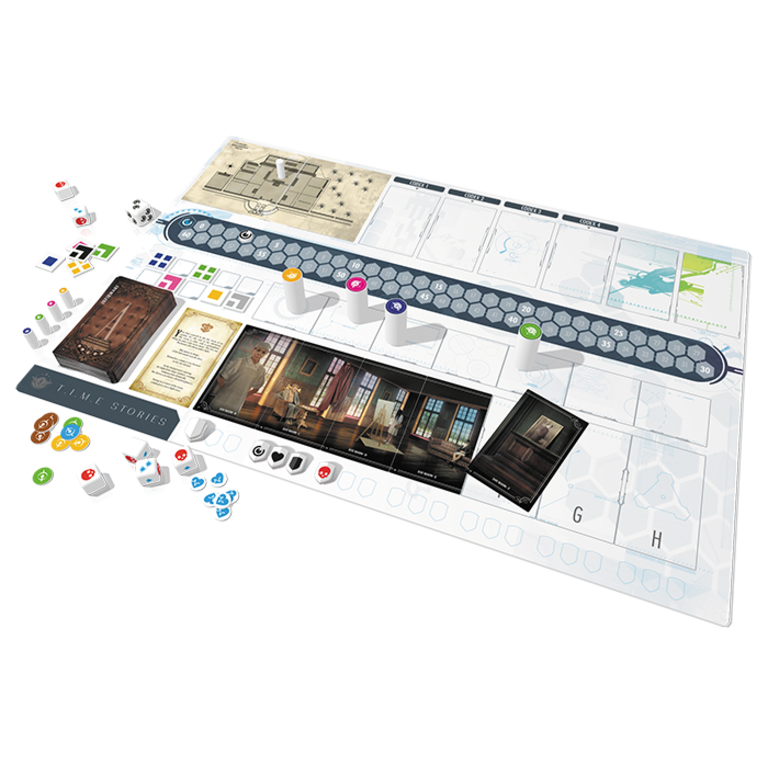 Madame 1673 NT expansion Stories board game T.I.M.E. New Time
