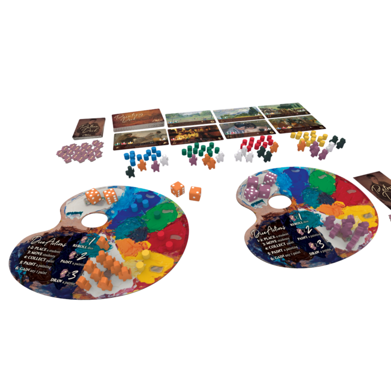 Atelier - The Painter's Studio - Boardgames ca