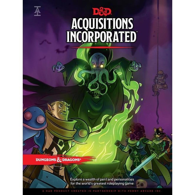 Wizards of the Coast Dungeons & Dragons 5e: Acquisitions Incorporated