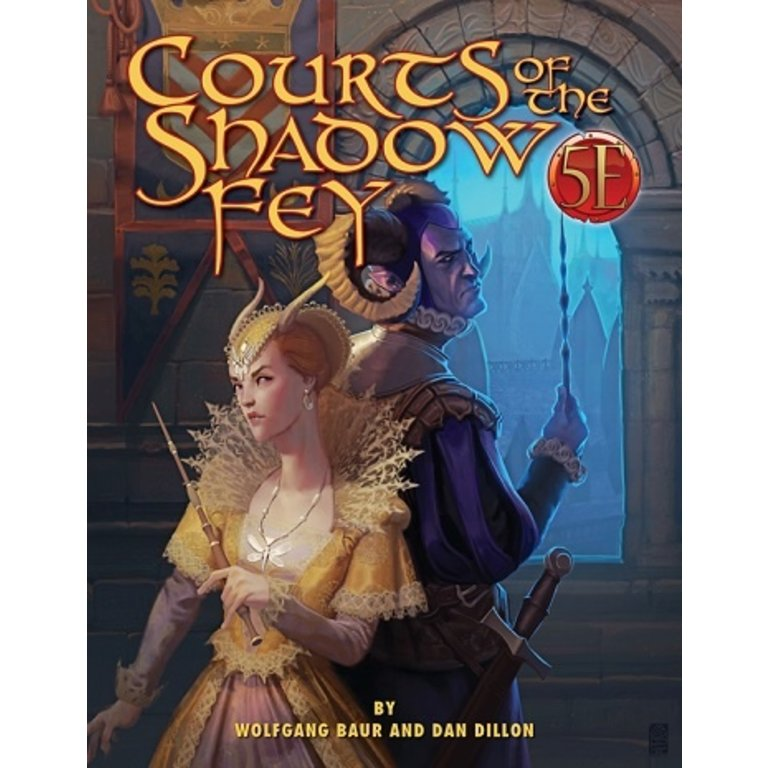 Courts of the Shadow Fey Adventure (5e Compatible