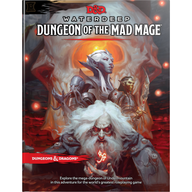 Wizards of the Coast Dungeons & Dragons 5e Waterdeep Dungeon of the Mad Mage
