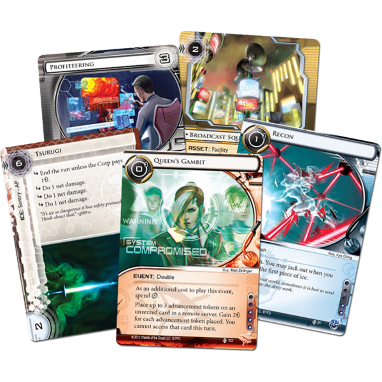 Android Netrunner LCG: Spin Cycle 1 - Opening Moves Data