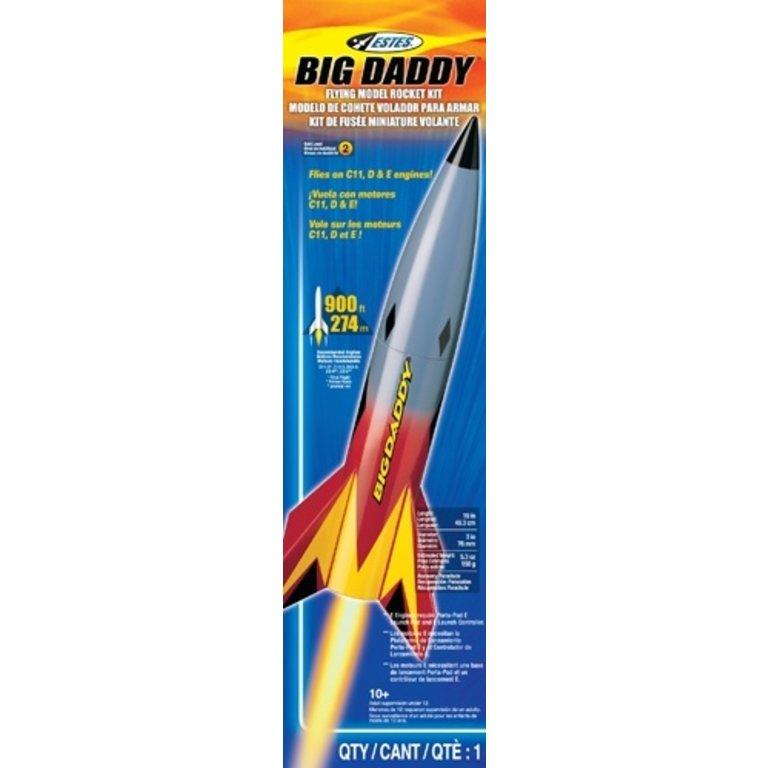 Estes Model Rocket Big Daddy Launch Set - Boardgames ca