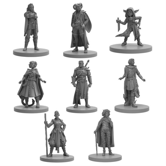 Steamforged Games **PRE-ORDER** Critical Role: Mighty Nein Miniatures Set