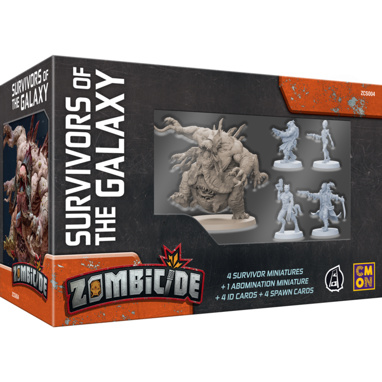 Cool Mini or Not **PRE-ORDER** Zombicide: Invader - Survivors of the Galaxy  Expansion