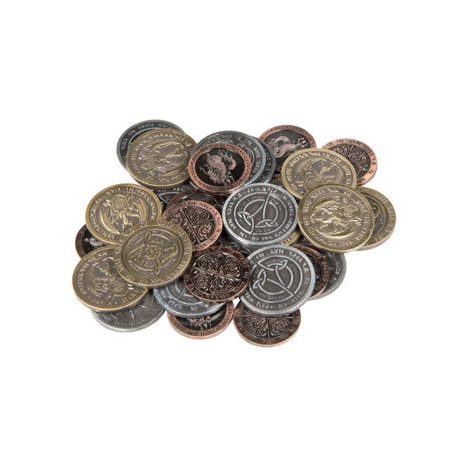Broken Token Fantasy Metal Coins
