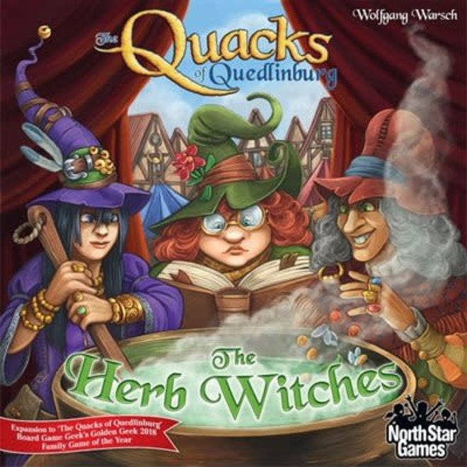 North Star Games **PRE-ORDER** The Quacks of Quedlinburg: The Herb Witches  Expansion