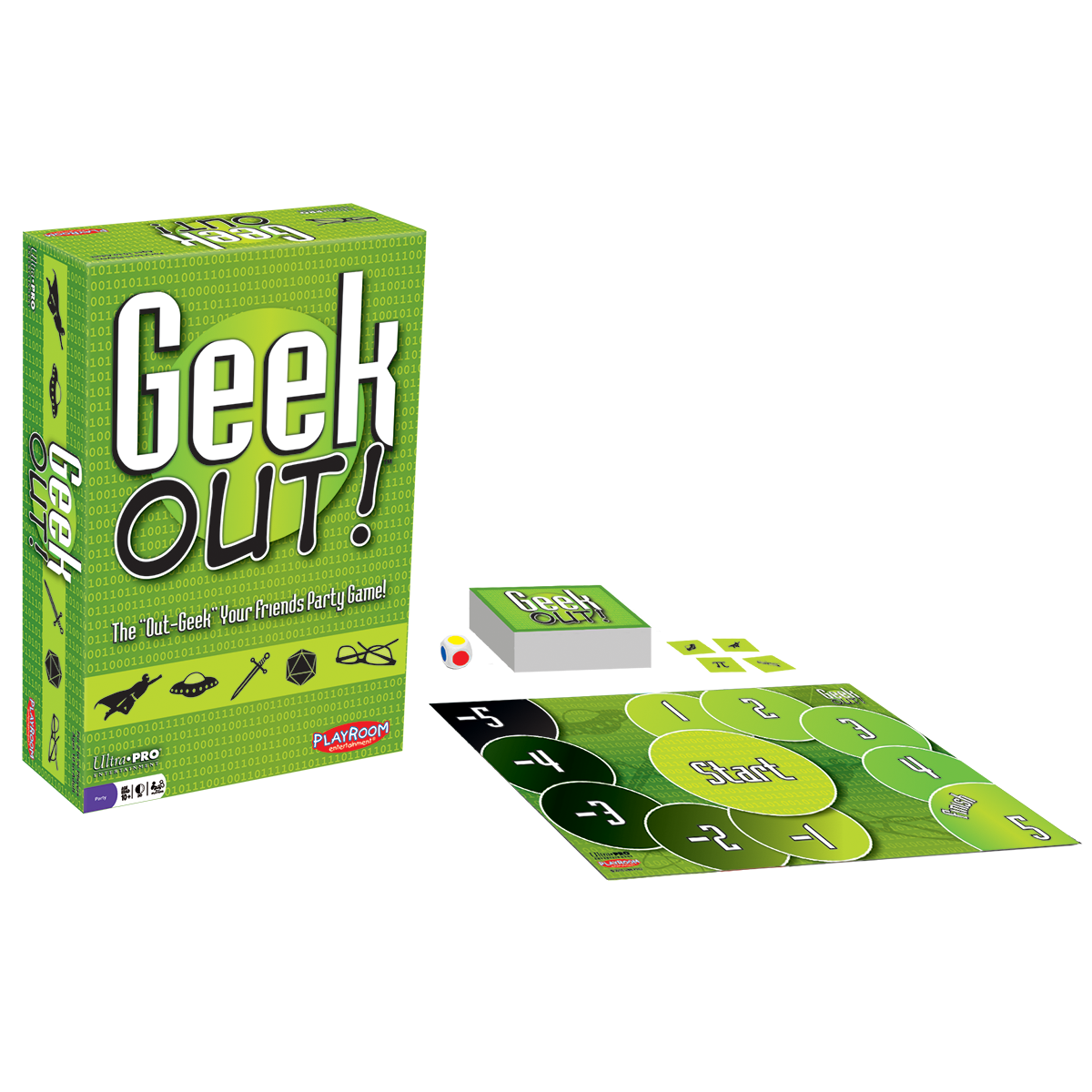 TableTop Limited Edition by Playroom Entertainment Geek Out