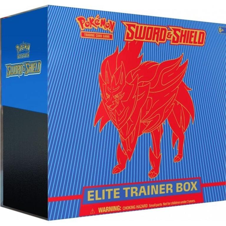 Sword And Shield Elite Trainer Box Zamazenta Code Card via message