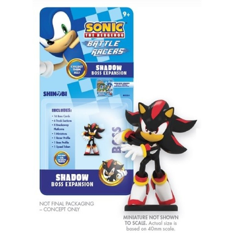 Sonic The Hedgehog Battle Racers Shadow Boss Expansion Boardgames Ca