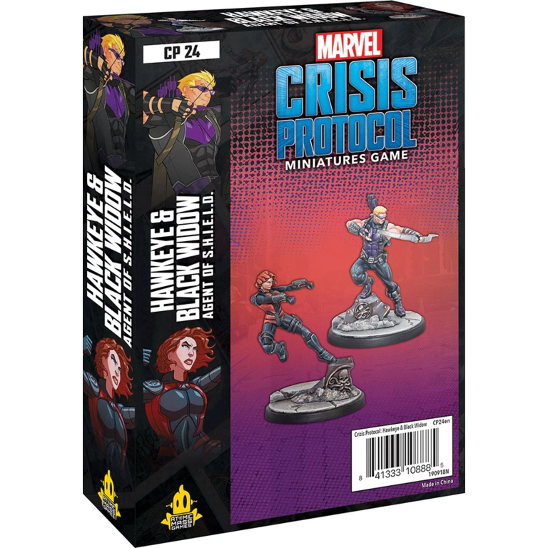 Marvel Crisis Protocol Hawkeye Black Widow Character Pack Boardgames Ca Welcome true believer to marvel: marvel crisis protocol hawkeye