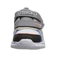 Skechers Little Boys' Magna Lights Vendow Sneaker (Toddler) Gray/Black 90751N/GYBK