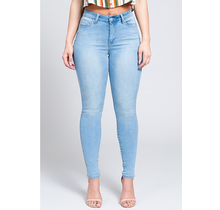 YMI Juniors Hide Your Muffin Top High Waist Skinny Jeans P747120