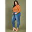 YMI Jeans YMI Junior Plus Size Hide Your Muffin Top High-Waist Ankle Jean