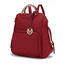 MKF Collection Torra M Signature Trendy Backpack by Mia Farrow