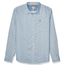 Dockers Dockers Men's Long Sleeve Button Front Comfort FLEX Shirt Woodley Light Blue 526690111