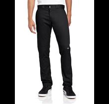 Dickies Men's Skinny Fit Straight Double Knee Work Pant | Black