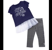 Dallas Cowboys Infant Peppie Set