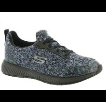 Skechers Women's Work Shoe Slip Resistant Squad-Ankey 77259