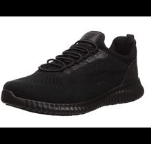Skechers Men's Cessnock Slip Resistant Work Shoe 77188, Black