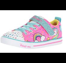 Skechers Little Girls' Sparkle LITE-Unicorn Craze Sneaker 10988N