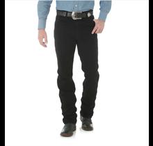 Wrangler Men's Cowboy Cut Slim Fit  Denim Jeans 936WBK, Shadow Black