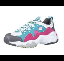 Skechers Kids Girl's D'Lites 3.0-ZENWAY Shoe, Turquoise/Pink 80443L