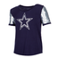 Dallas Cowboy Girls Shirt WHITNEY Navy DC17990GU