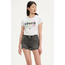 Levi Strauss & Co. Levi's Women The Pefect Tee Cali Sportswear Logo White 17369-0826