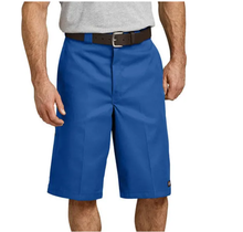 "Dickies 13"" Loose Fit Multi-Pocket Work Shorts 42283RB I Royal Blue"